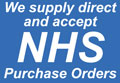 We supply to the NHS