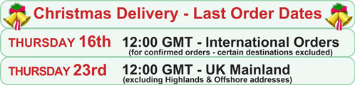 MEDesign Xmas Delivery Dates