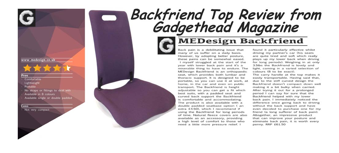 The Mulberry Backfriend only available from MEDesign