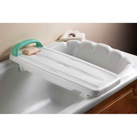 Bath Board Deluxe With Handle