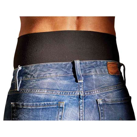 Hipkickers Womens Black Waist Size 16 to 18