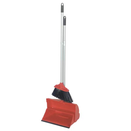 Dustpan and Brush Long Handled