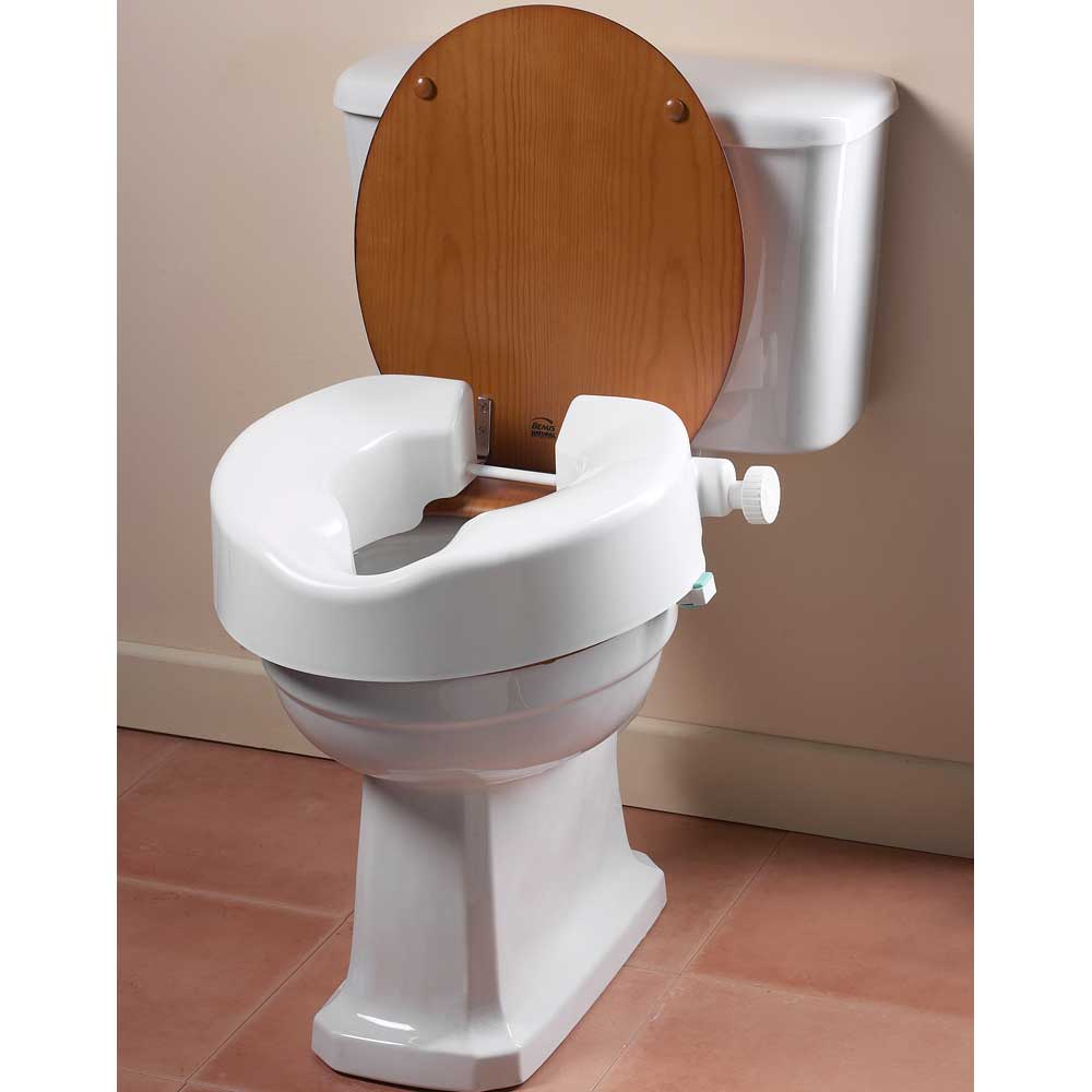Medesign Products For Back Pain Relief Raised Toilet Seat