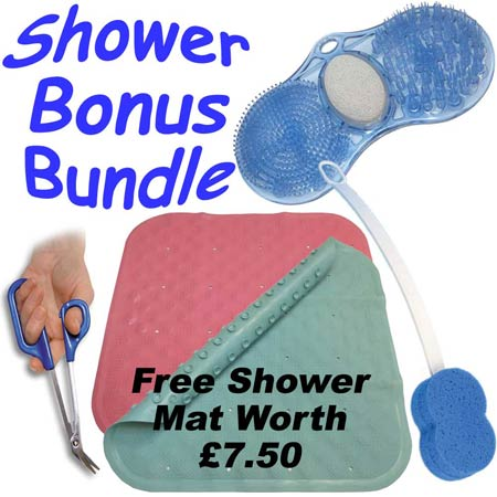 Shower Bonus Bundle FREE Shower Mat